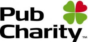 pub charity logo white